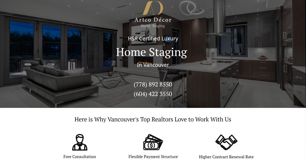 Artco Home Staging